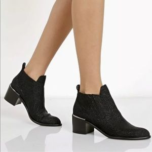 Dolce Vita Percy Crystallized Leather Ankle Boot